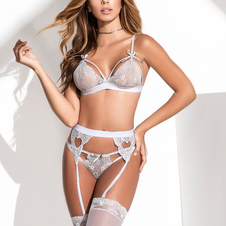 Frisky 2-Piece Set // Gray (S-M)