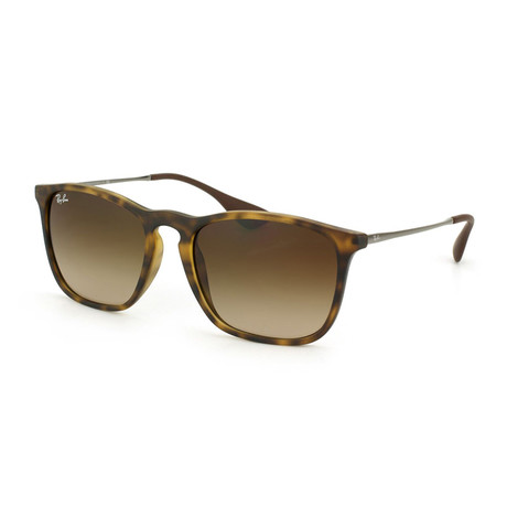 "Men's ""Chris"" Sunglasses // Tortoise + Brown Gradient"