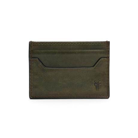 Austin Card Case // Pine