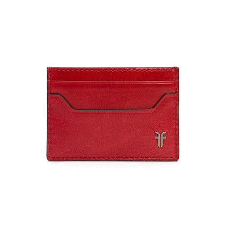 Austin Card Case // Red