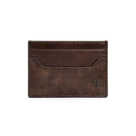 Austin Card Case // Dark Brown