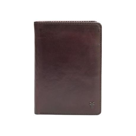 Austin Passport Wallet // Merlot