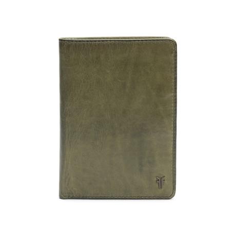 Austin Passport Wallet // Pine