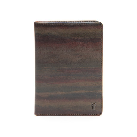 Austin Passport Wallet // Dark Multicolor