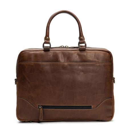Logan Work Bag // Dark Brown