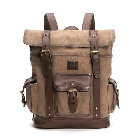 Ethan Backpack // Wheat