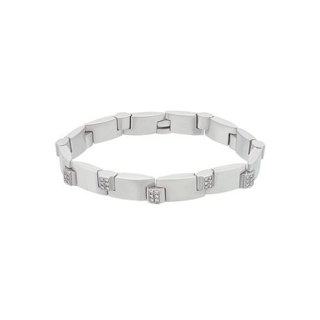 Chaumet 18k White Gold Diamond Bracelet // Pre-Owned