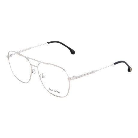Unisex Avery Pilot Optical Frames // Silver (Size 56-17-145)