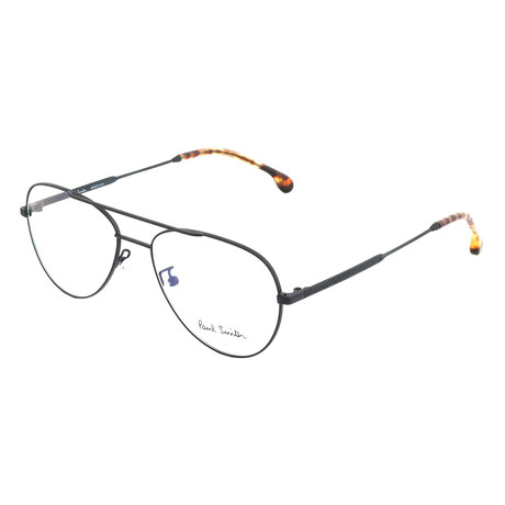 Unisex Angus Aviator Optical Frames // Matte Black (Size 55-17-145)