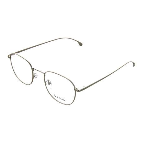 Unisex Arnold Square Optical Frames (Matte Silver)
