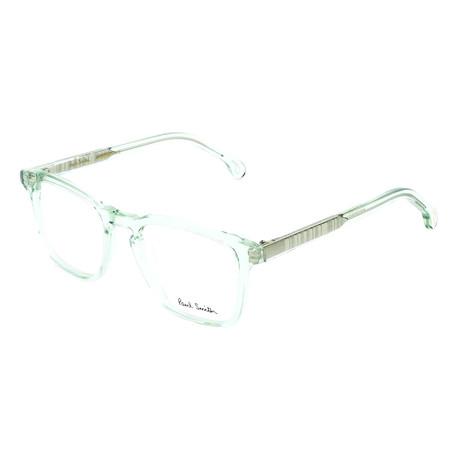 Men's Anderson Square Optical Frames // Pistachio Crystal