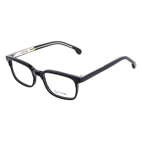 Men's Adelaide Square Optical Frames // Black Ink