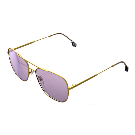 Unisex Avery Pilot Sunglasses (Gold)
