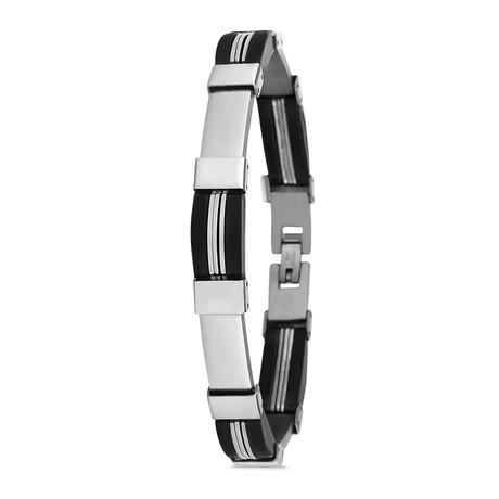 Pine Bracelet // Silver
