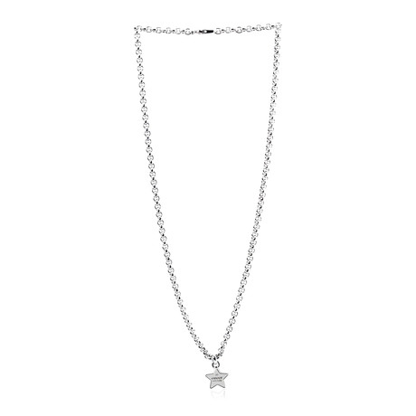 Gucci Sterling Silver Pendant Necklace III