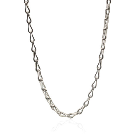 Gucci Sterling Silver Chain Necklace II