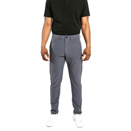 Workday Slim Pant // Slate (28WX30L)