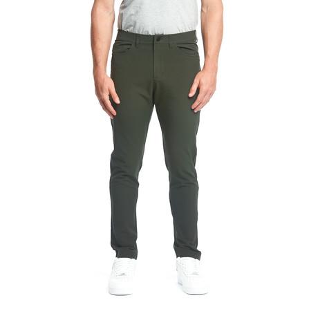 Workday Slim Pant // Dark Olive (28WX30L)