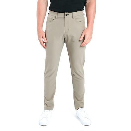 Workday Slim Pant // Khaki (28WX30L)