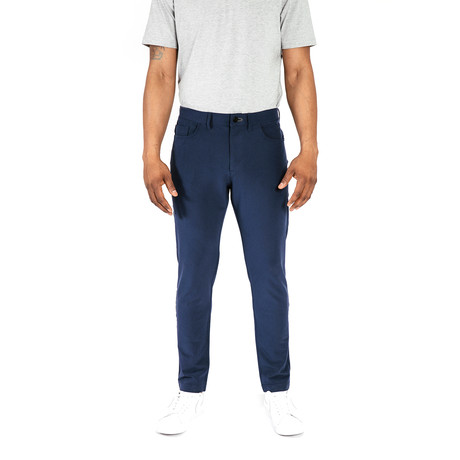 Workday Slim Pant // Navy (28WX30L)
