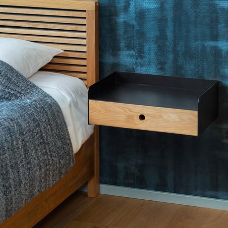 Adele Floating Nightstand + Drawer + Bedside Table