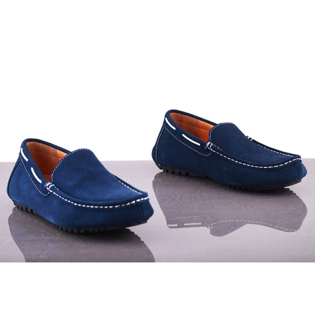 Anholt Suede Loafer // Blue (Euro: 39)