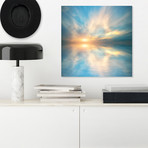 "Ocean Glory // High Gloss Panel (15""W x 15""H x 0.5""D)"