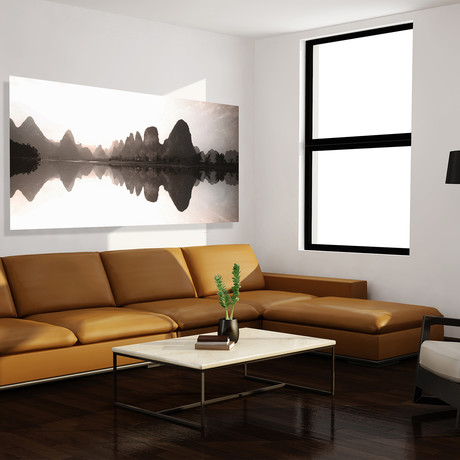 "Serenity Panorama // High Gloss Panel (10""W x 20""H x 0.5""D)"