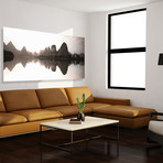 "Serenity Panorama // High Gloss Panel (10""W x 20""H x 0.5""D)"