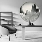 "Serenity (Round) // High Gloss Panel (15""W x 15""H x 0.5""D)"