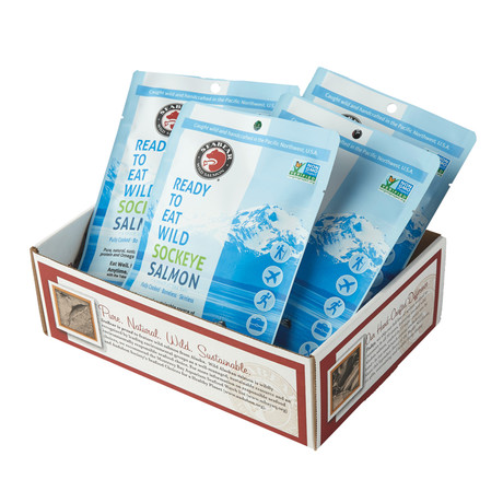 Ready-to-Eat Wild Salmon // Try Me 4-Pack