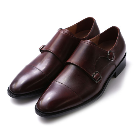 Oracle Double Monk Strap // Brown (US: 7)