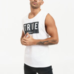True Tank Top // White (2XL)
