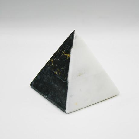 Decorative Pyramid // Dream Night + Afyon White (Dream Night + Afyon White V1)