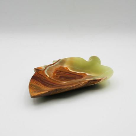 Onyx Plate // Verde Guatemala, Rainforest Green (Small)