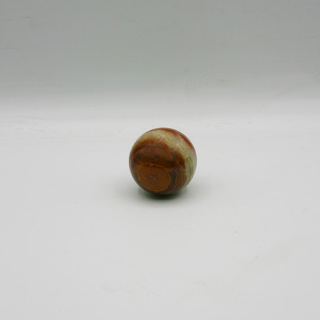 Decorative Sphere // Brown + Green
