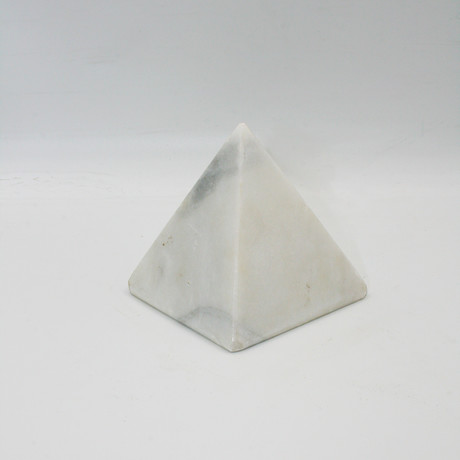Decorative Pyramid // Milas White (V1)