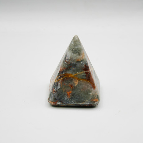 Decorative Pyramid // Rainforest (Green + Brown)