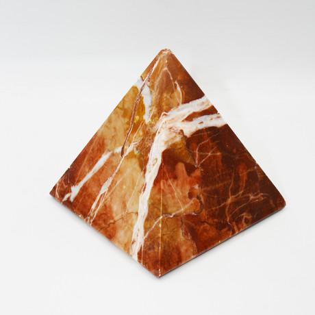 Decorative Pyramid // Rosso Verona