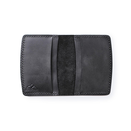 Etenna Card Holder Wallet // Coal