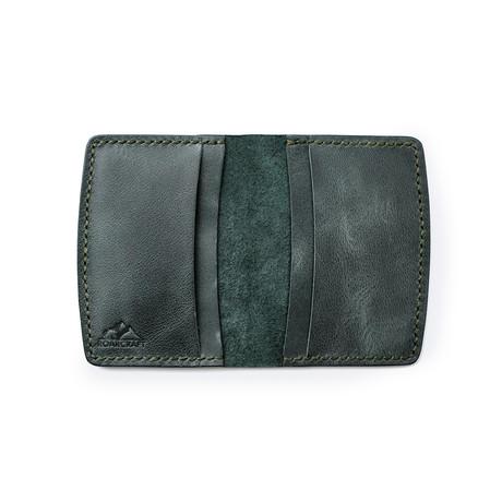 Etenna Card Holder Wallet // Emerald