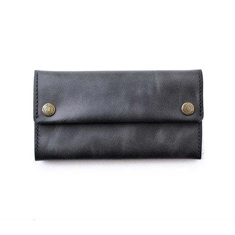 Leather Pouch // Coal