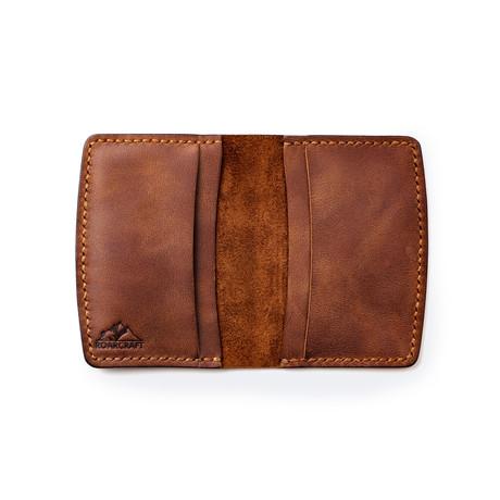 Etenna Card Holder Wallet // Tobacco