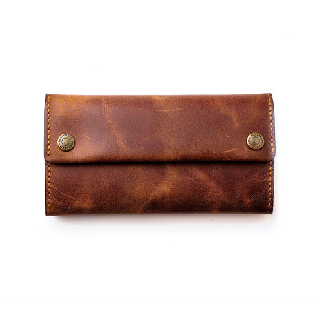 Leather Pouch // Tobacco