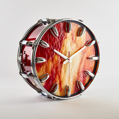 """GP Percussion Snare Drum Wall Clock // 14"""""""