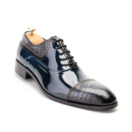 Rowan Dress Shoes // Turquoise (Euro: 40)