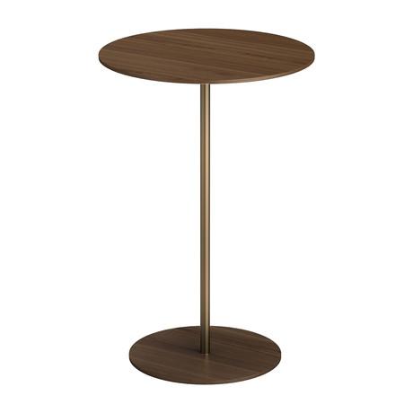 """Dey Side Table // Walnut // 18"""""""