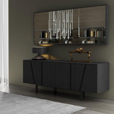 Greene Mirror (Glossy White)