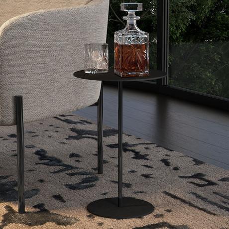 """Dey Side Table // Black Oak // 22"""""""
