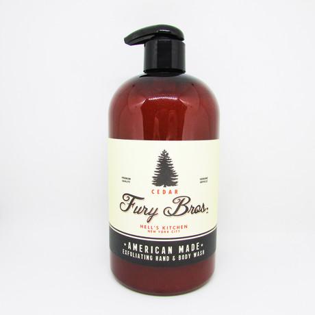 Cedar Hand + Body Wash // Set of 3